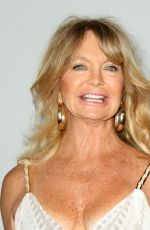 GOLDIE HAWN at Parker Institute for Cancer Immunotherapy Launch Gala in Los Angeles 04/13/2016