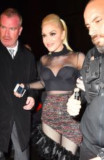 GWEN STEFANI at  SNL After-party in New York 04/03/2016