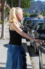 GWEN STEFANI Out and About in Burbank 04/16/2016