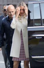 GWYNETH PALTROW Arrives at CBS Studios in New York 04/13/2016 04/13/16