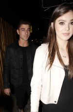 HAILEE STEINFELD at Gigi Hadid's 21st Birthday Party in West Hollywood 04/28/2016