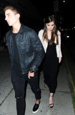 HAILEE STEINFELD at Nice Guy in West Hollywood 04/28/2016
