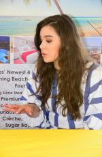 HAILEE STEINFELD Out Shopping in Barbados 04/14/2016