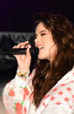 HAILEE STEINFELD Performs at Chum FM Breakfast in Barbados 04/14/2016
