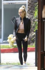 HAILEY BALDWIN Out and About in West Hollywood 04/27/2016
