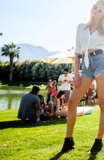 HAILEY CLAUSON at 2016 Coachella Valley Music and Arts Festival in Indio 04/15/2016