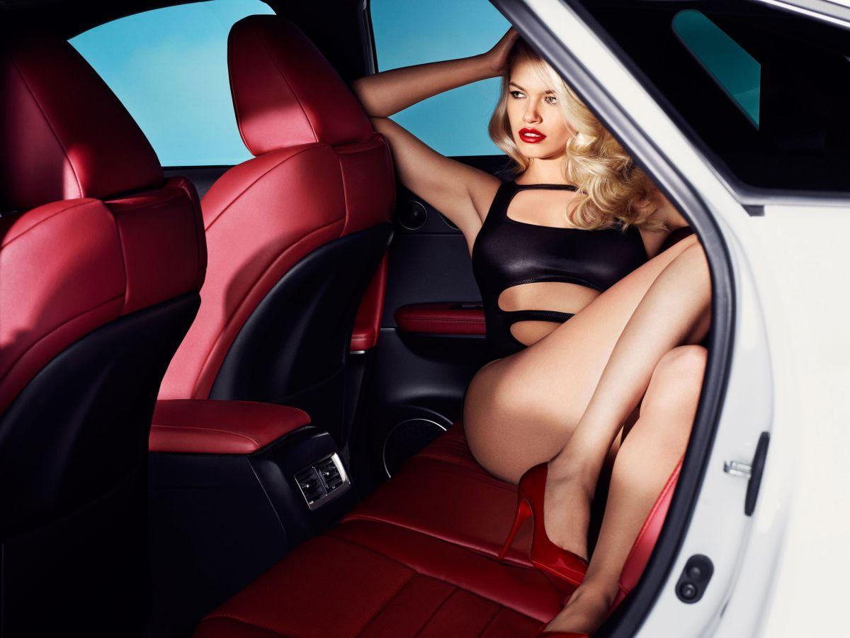 HAILEY CLAUSON for 2016 Lexus RX Photoshoot