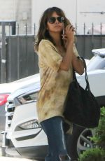 HALLE BERRY Out and About in Los Angeles 04/04/2016
