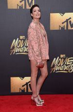 HALSEY at 2016 MTV Movie Awards in Burbank 04/09/2016