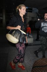 HEIDI KLUM at Los Angeles International Airport 04/25/2016