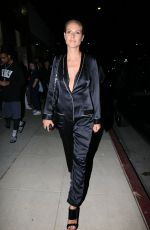 HEIDI KLUM Night Out in Los Angeles 04/21/2016
