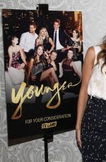 HILARY DUFF at Younger FYC Screening and Reception in West Hollywood 04/15/2016