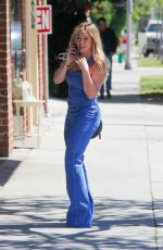 HILARY DUFF Out and About in Beverly Hills 04/05/2016