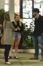 HILARY DUFF Out and About in Los Angeles 04/27/2016