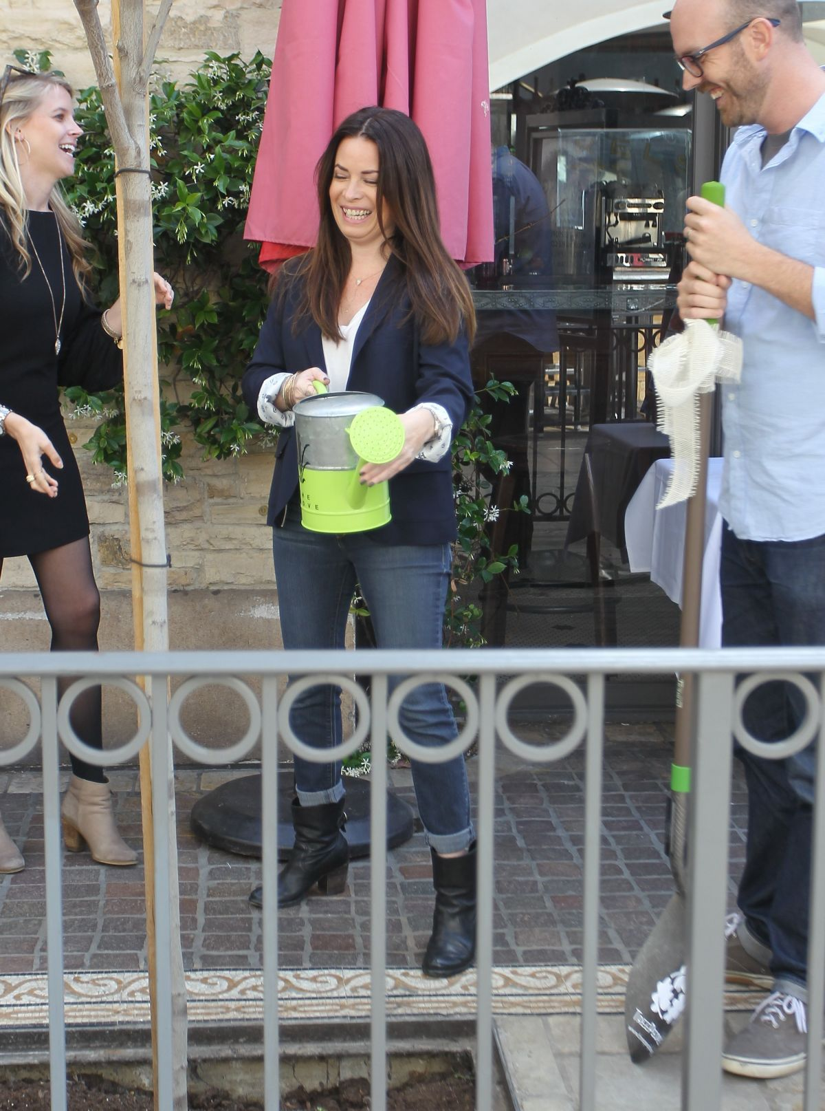 HOLLY MARIE COMBS at Grove and Treepeople Celebrate Earth Day in Hollywood 04/22/2016