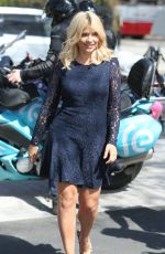 HOLLY WILLOUGHBY Arrives for This Morning Wedding in London 04/20/2016
