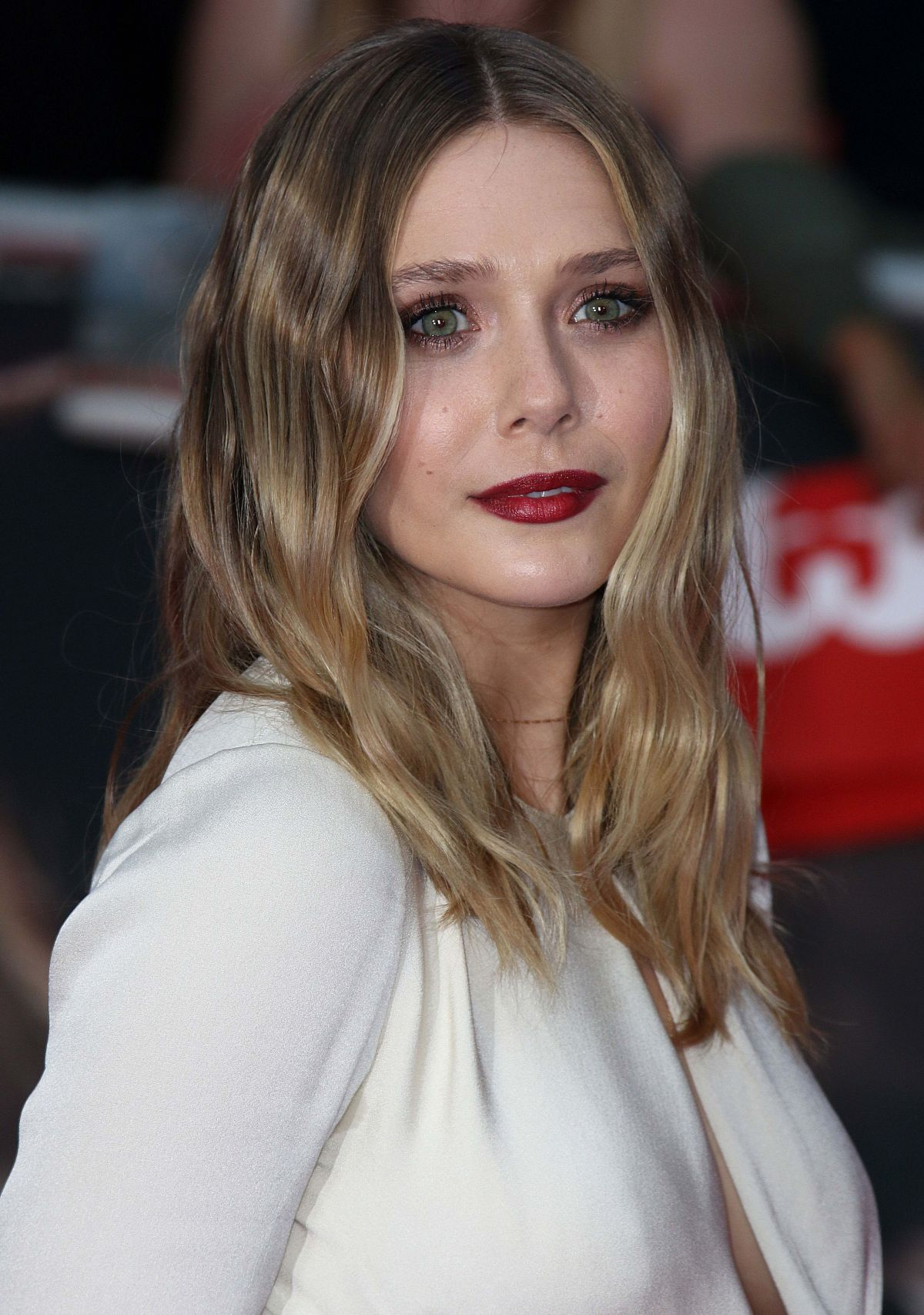 ELIZABETH OLSEN at 'Captain America: Civil War' Premiere ...
