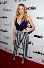 HUNTER HALEY KING at Marie Claire Hosts Fresh Faces Party in Los Angeles 04/11/2016