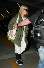 IGGY AZALEA Arrives at LAX Airport in Los Angeles 04/16/2016