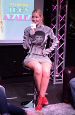 IGGY AZALEA at 97.3 Radio Studio in Hollywood 04/11/2016