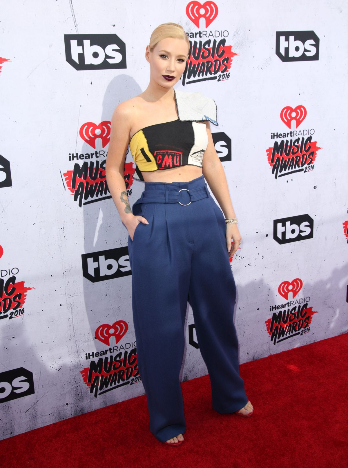 IGGY AZALEA at iHeartRadio Music Awards in Los Angeles 04/03/2016