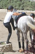 IGGY AZALEA Horseback Riding in New York 03/30/2016