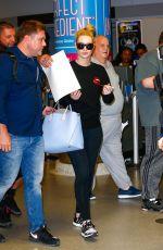 IGGY AZALEAE Arrives at JFK Airport in New York 04/27/2016