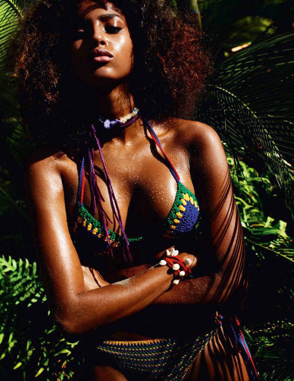 IMAAN HAMMAM in Vogue Magazine