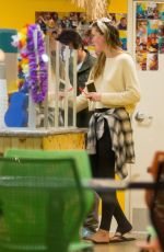 IRELAND BALDWIN at Shaved Ice and Boba Shop in Los Angeles 03/28/2016