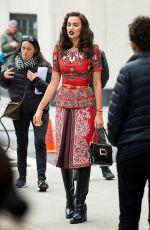 IRINA SHAYK on the Set of a Photoshoot in New York 04/27/2016