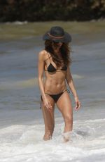 IZABEL GOULART in Bikini on the Beach in Rio  04/09/2016