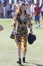 JAMIE CHUNG at Coachella Valley Music and Arts Festival, Day 2 04/16/2016