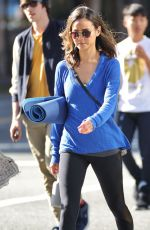 JAMIE CHUNG Leaes a Gym in Los Angeles 04/06/2016