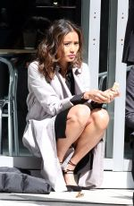 JAMIE CHUNG on the Set of