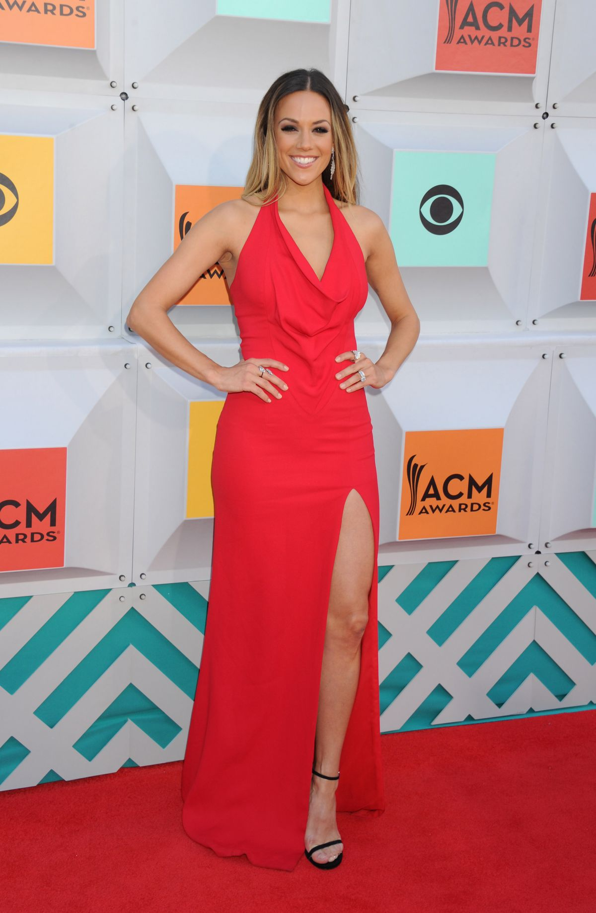JANA KRAMER at 51st Annual ACM Awards in Las Vegas 04/03/2016