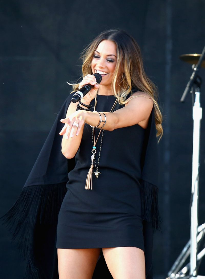 JANA KRAMER Performs at 4th ACM Party for a Cause Festival in Las Vegas 04/01/2016