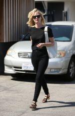 JANUARY JONES Leaves a Beauty Salon in Beverly Hills 04/04/2016