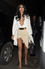 JASMIN WALIA at Libertine Night Club in London 03/31/2016