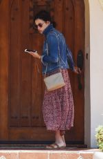 JENNA DEWAN Leaves a Friends House in West Hollywood 04/27/2016