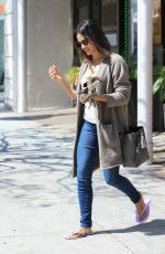 JENNA DEWAN Leaves a Nail Salon in Beverly Hills 04/11/2016