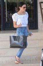 JENNA DEWAN Shopping at Barney