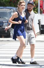 JENNETTE MCCURDY Out in Los Angeles 04/23/2016