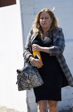 JENNIFER COOLIDGE Leaves a Hair Salon in Los Angeles 04/22/2016