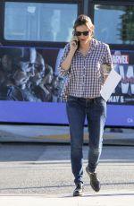JENNIFER GARNER in Jeans Out in Los Angeles 04/18/2016