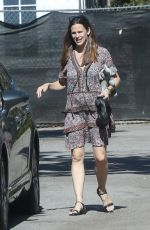 JENNIFER GARNER Out and About in Brentwood 04/17/2016