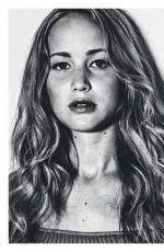 JENNIFER LAWRENCE in Esquire Magazine, Russia May 2016 Issue