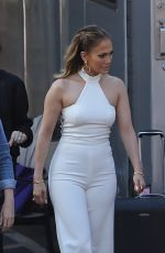 JENNIFER LOPEZ Arrives at