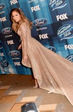 JENNIFER LOPEZ at American Idol Finale for the Farewell Season in Hollywood 04/07/2016