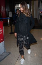 JESSICA ALBA at LAX Airport in Los Angeles 04/17/2016