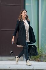 JESSICA ALBA Out and About in Los Angeles 04/04/2016